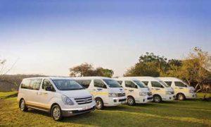 Wild Horizons Tours andTransfers Fleet in Botswans